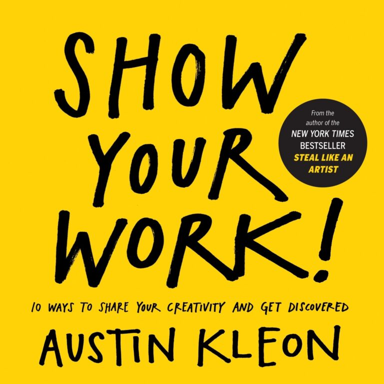 Show your work cover